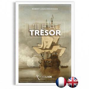 L'Île au Trésor, de Stevenson - bilingue anglais-français (+ audio)