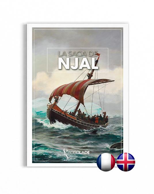La Saga de Njal, en édition bilingue islandais-français (+ audio)