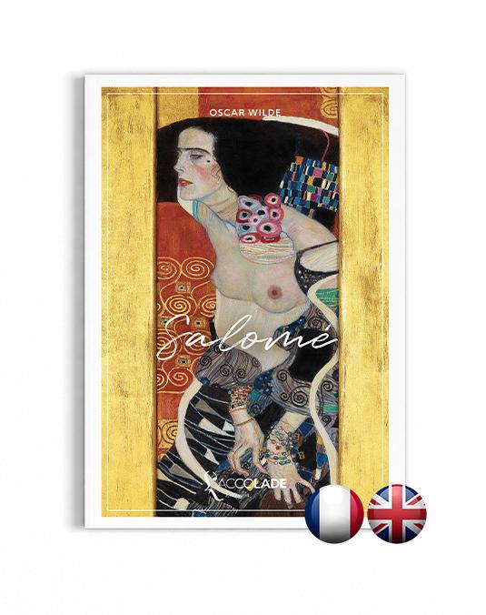 Couverture de Salomé d'Oscar Wilde (bilingue anglais), L'Accolade Éditions